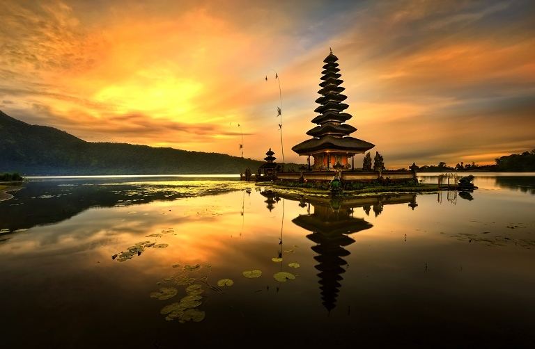 Indonesia ,temple of goddess
