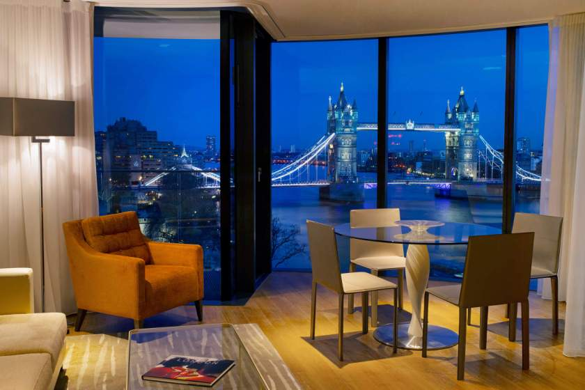 Cheval Three Quays London, Anh