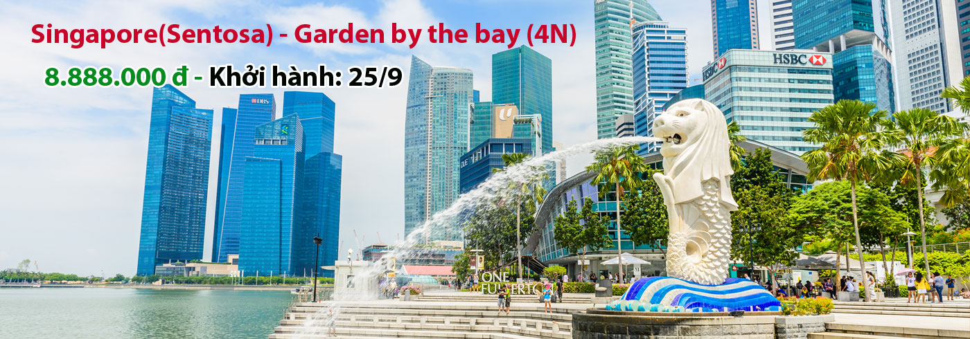 Singapore(Sentosa) - Garden by the bay (4N)